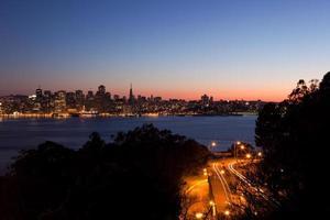 San Francisco sull'acqua foto