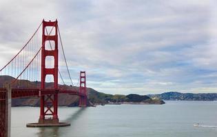 golden gate bridge di san francisco foto