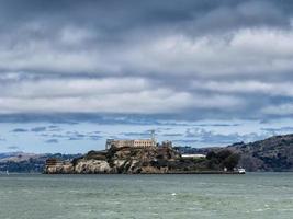 isola di alcatraz a san francisco foto