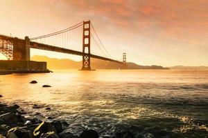 golden gate bridge, san francisco ca usa foto