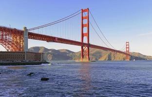 golden gate bridge a San Francisco, California, Stati Uniti d'America foto