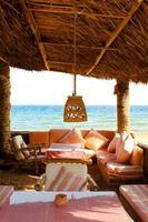 bar sulla spiaggia foto