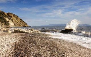 spiaggia di Lourdas foto