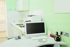 l'ufficio del dottore; la sala del dottore foto