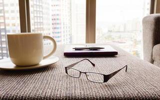 scrivania da ufficio. foto
