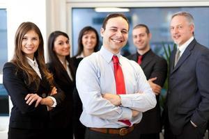 gruppo di uomini d'affari foto