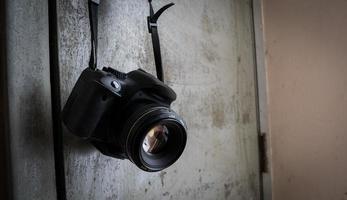 macchina fotografica professionale foto
