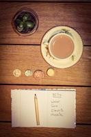 finanze domestiche foto