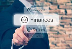 concetto di finanze foto