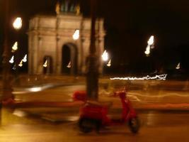 Parigi di notte foto