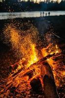 fuoco magico foto