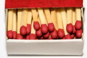 aprire la scatola di fiammiferi foto