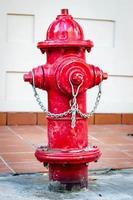 idrante rosso foto