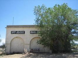 città abbandonata nel New Mexico foto