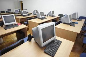 aula del computer 1 foto