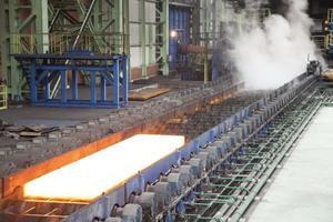 fabbrica d'acciaio