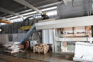 fabbrica di marmo foto