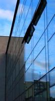 moderno edificio di vetro foto