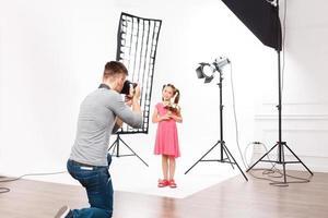 ecco come appare il servizio fotografico per bambini foto
