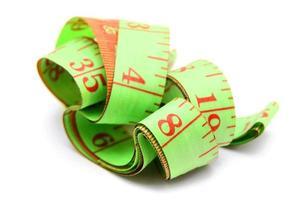 nastro di misurazione. foto