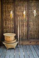 cultura della Thailandia in vimini foto