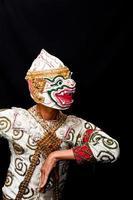 spettacolo culturale tailandese hanuman foto
