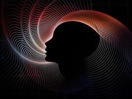 calcolo della geometria dell'anima foto