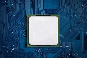 processore del computer foto