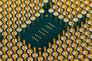 CPU del computer foto