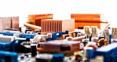 circuito stampato con radiatori in rame foto