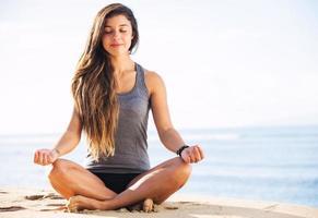 meditazione mattutina foto