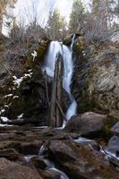 cacciatore creek falls, nevada foto