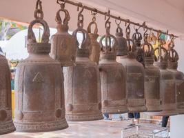 campane in un tempio buddista
