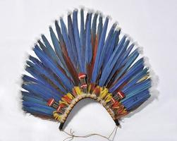 copricapo blu foto