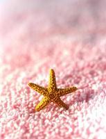 asciugamano spa salon. foto