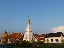 phra that choeng chum pagoda in sakon nakorn, thailandia