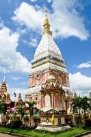 phra that ray nu pagoda in nakhon phanom, thailandia