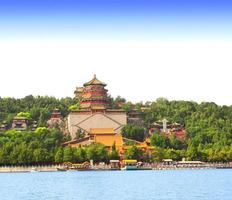 Palazzo d'estate a Pechino, Cina foto