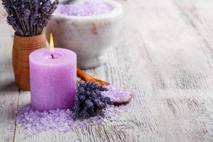 concetto di aromaterapia foto