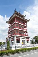 torre dell'osservatorio in stile cinese foto