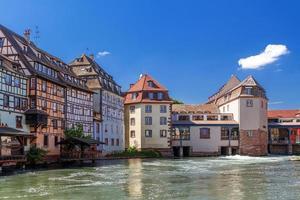 """Strasburgo. distretto """"little france"""" frantsiya.evropa."""