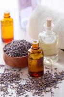 olio essenziale di aroma foto