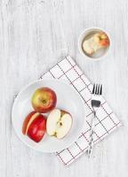 colazione a base di frutta foto