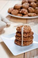 dieta e biscotti sani di muesli foto