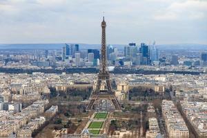 paesaggio urbano di Parigi foto