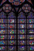 finestra di Notre Dame foto