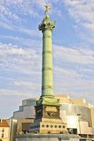 il posto della Bastiglia, Parigi foto