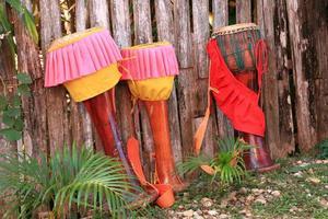 tom-tom, tamburo tailandese tradizionale foto