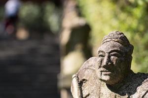 figurina di pietra foto