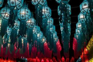 Festival di Loy Kratong foto